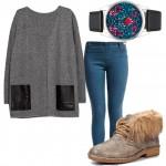 Осень-весна, сет из одежды «Индиго»
