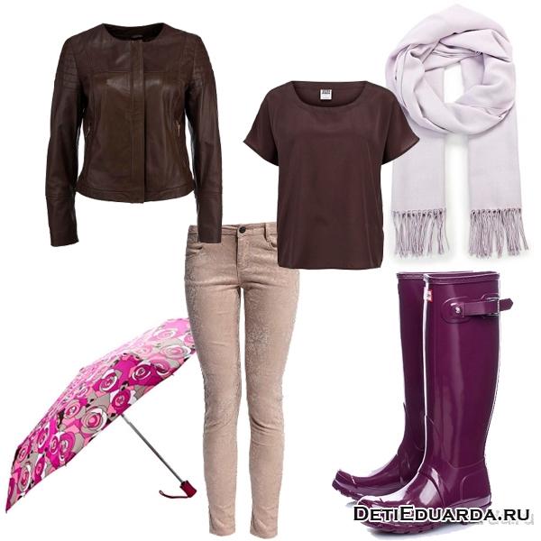 Весенний сет из одежды «Сиреневая Сирень»