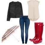 Весенний сет из одежды «Клубника со сливками»