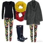 Весенний сет из одежды «В дождь»