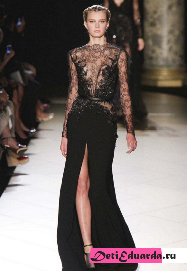 Показ Elie Saab 2014/2015 Fall Winter