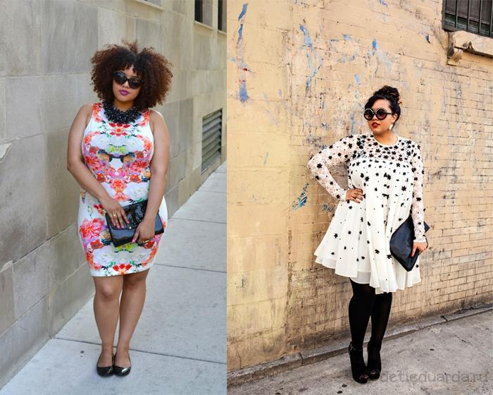 вечерние-платья-для-полных,-белое-кружевное-и-яркое