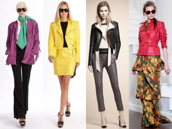 виды женских курток осень-весна