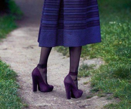 виды каблуков столбик