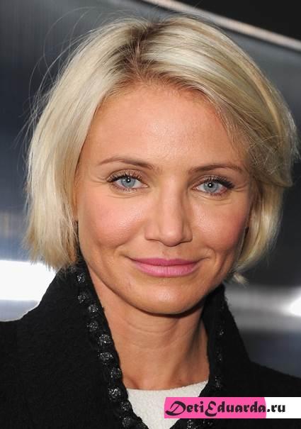 голубоглазая блондинка Кемерон Диаз, макияж 89