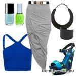 Летний сет из одежды «Кислотный»