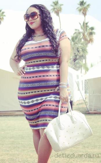 летние платья для полных (11)