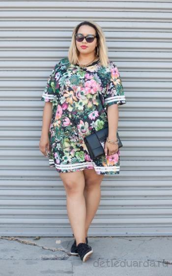 летние платья для полных (5)