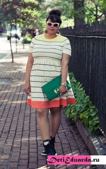 Мода для полных – платья этого лета