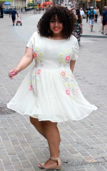 летние платья для полных (8)