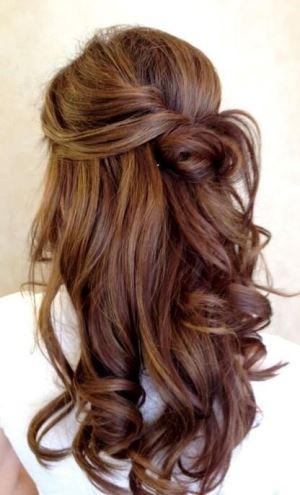 летние прически на длинные волосы, жгутик-роза
