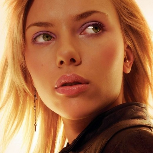 макияж для зеленоглазых блондинок на примре Скарлетт Йоханссон (7)
