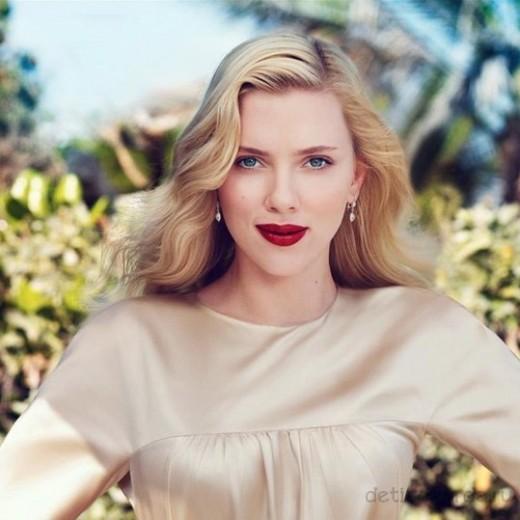 макияж для зеленоглазых блондинок на примре Скарлетт Йоханссон (8)