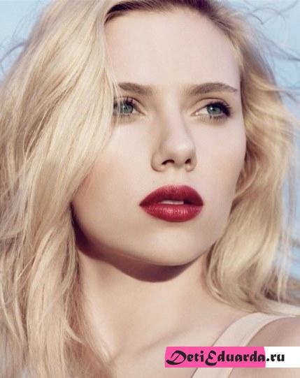 макияж для зеленоглазых блондинок