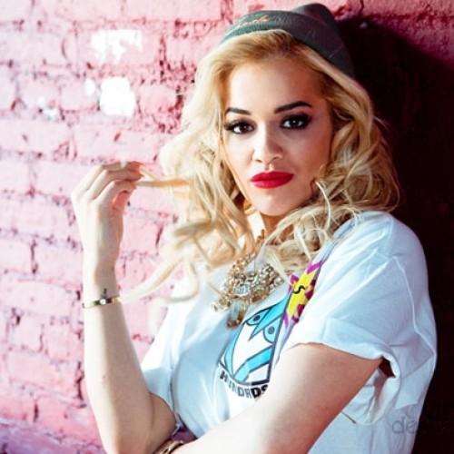 макияж для кареглазой блондинки Рита Ора (5)