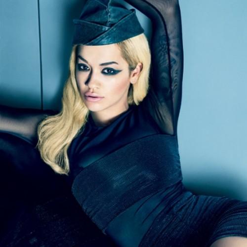 макияж для кареглазой блондинки Рита Ора (6)