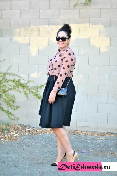 офисная мода для полных женщин (10)