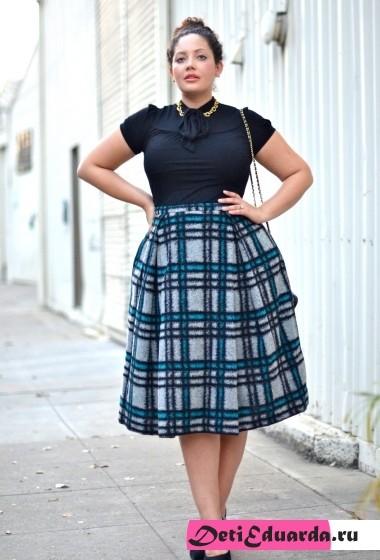 офисная мода для полных женщин (16)