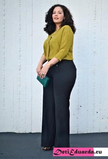офисная мода для полных женщин (18)