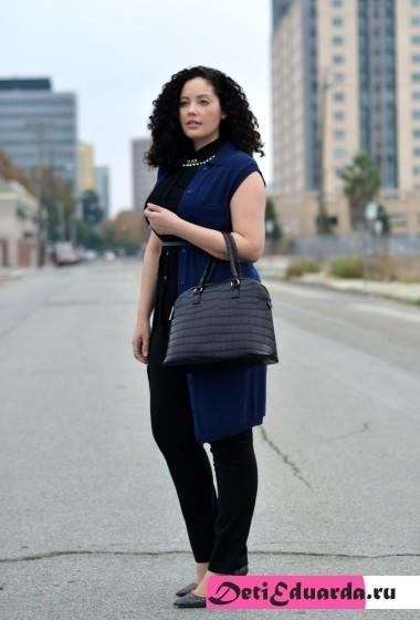 офисная мода для полных женщин (6)