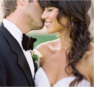Свадебные прически для полного лица