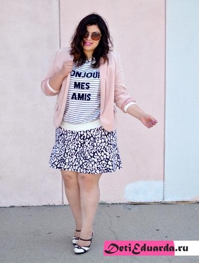 Что носят полные девушки – фото самых стильных