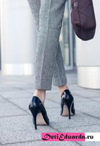 Виды и названия каблуков