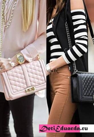 Виды сумок Chanel