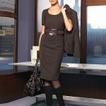 Что носить в офис осенью?